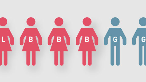 Thumbnail for More women identify as bisexual