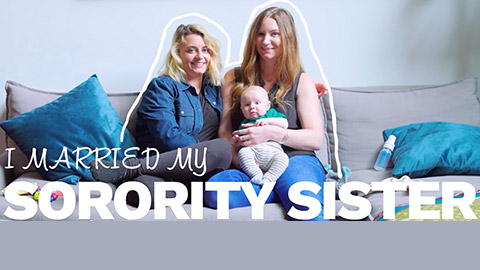 "Thumbnail for ""I married my sorority sister"""